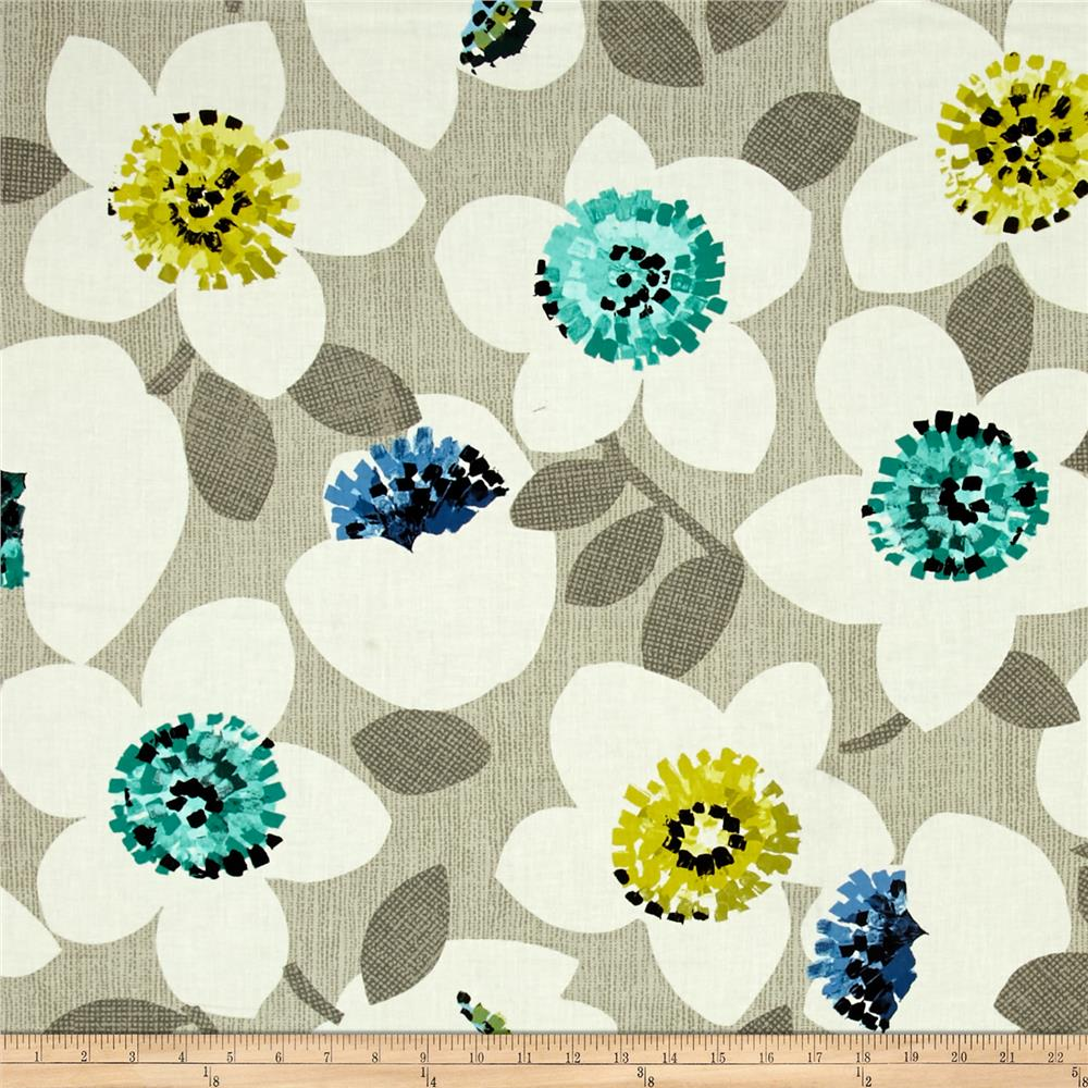 Cachet Large Floral Green/Gray