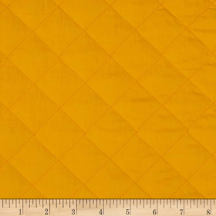 Double Sided Quilted Broadcloth Pencil Yellow