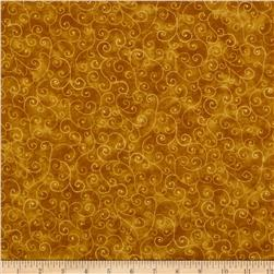 Moda Marble Swirls (9908-91) Burnt Gold Fabric