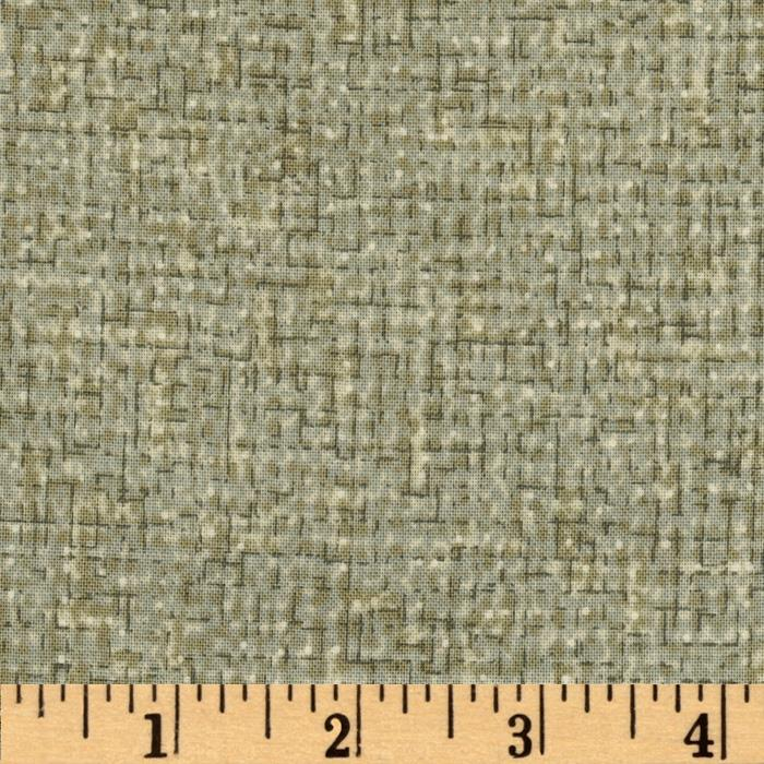 Quilter's Burlap Silver