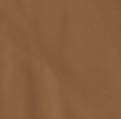 """54"""" Wide Tulle Antique Gold"""