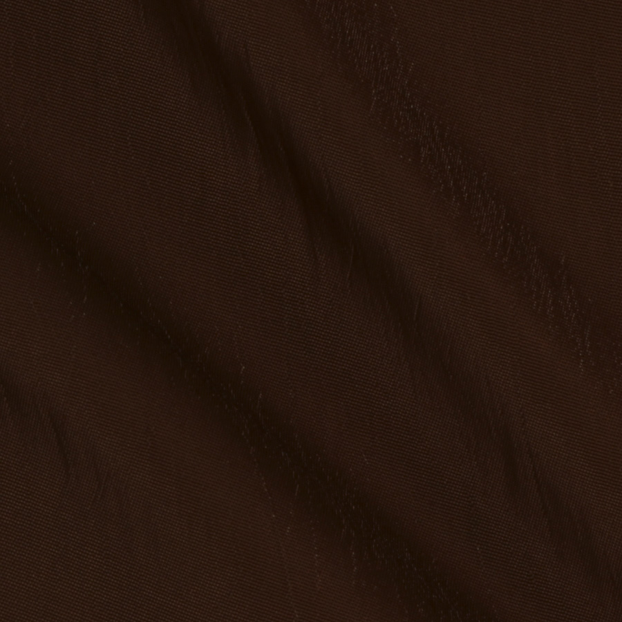 Stretch Taffeta Brown Fabric