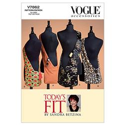 Vogue Shoulder Bag In 2 Sizes Pattern V7862