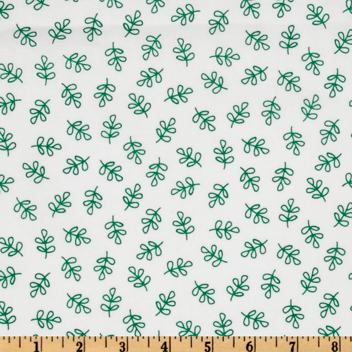 Michael Miller Nordic Holiday Holly Folly Forest Fabric