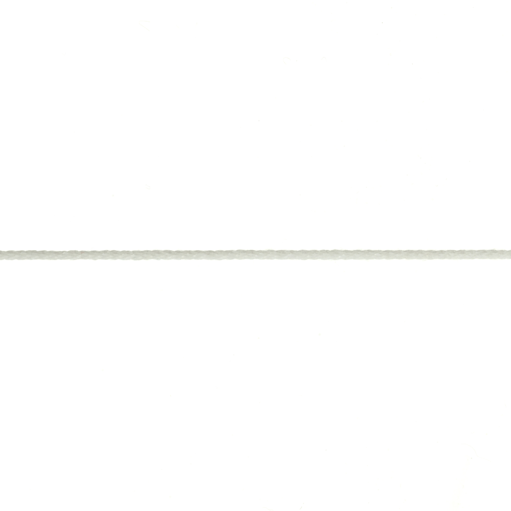1/16'' Cable Cord White - By the Yard