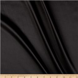 Silky Satin Charmeuse Solid Black