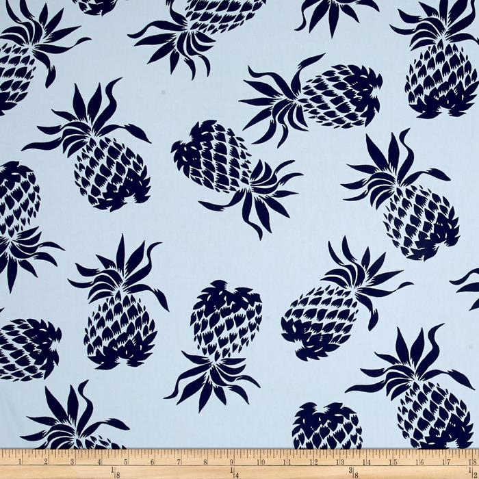 Hoffman Large Pineapples Blue