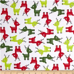 Robert Kaufman Jingle Deer White