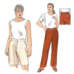 Kwik Sew Pants & Shorts Plus Size Pattern