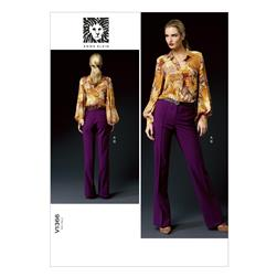 Vogue Misses' Top and Pants Pattern V1366 Size B50