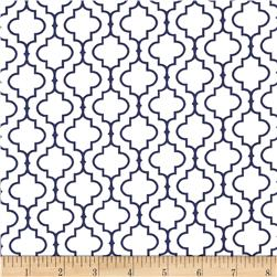 Kaufman Metro 108 In. Wide Back Tile Navy