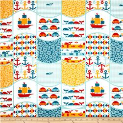 Birch Organic Marine Too Waves Patch Multi