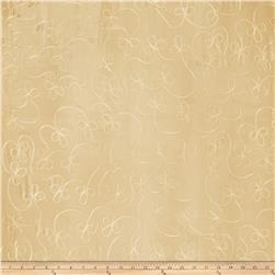 Fabricut Richie Scroll Soft Gold