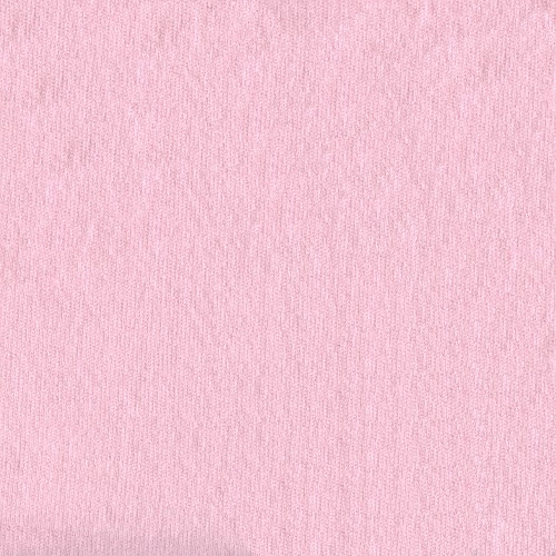 Bamboo Rayon/Cotton Sweatshirt Fleece Pink Fabric