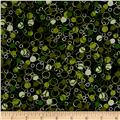 Circle Dot Black Green