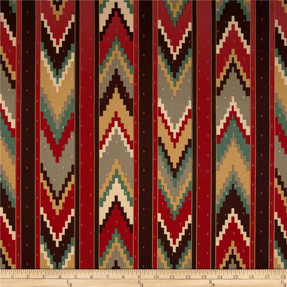 Richloom Marbella Chevron Twill Persian