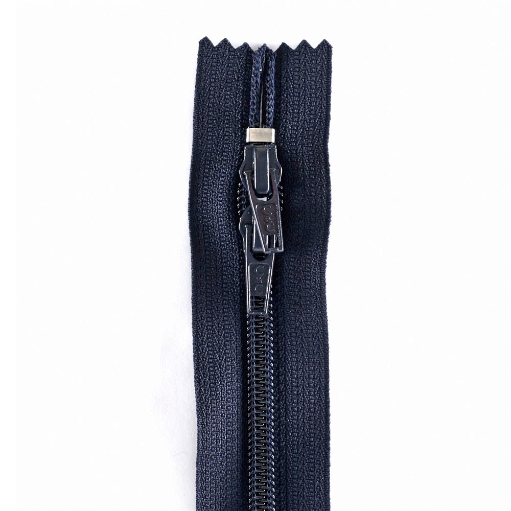"Coats & Clark Purse Zipper 12"" Navy"