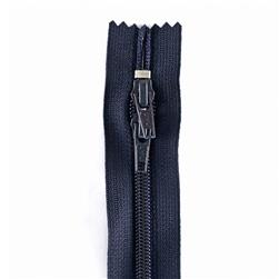"PURSE ZIPPER 12"" Navy"