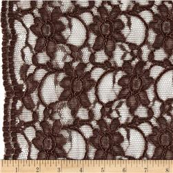 Supreme Lace Brown Fabric
