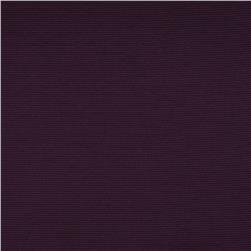 Versailles Washable Faille Rib Drapery Fabric Plum