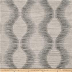 Fabricut Simple Plan Faux Silk Charcoal