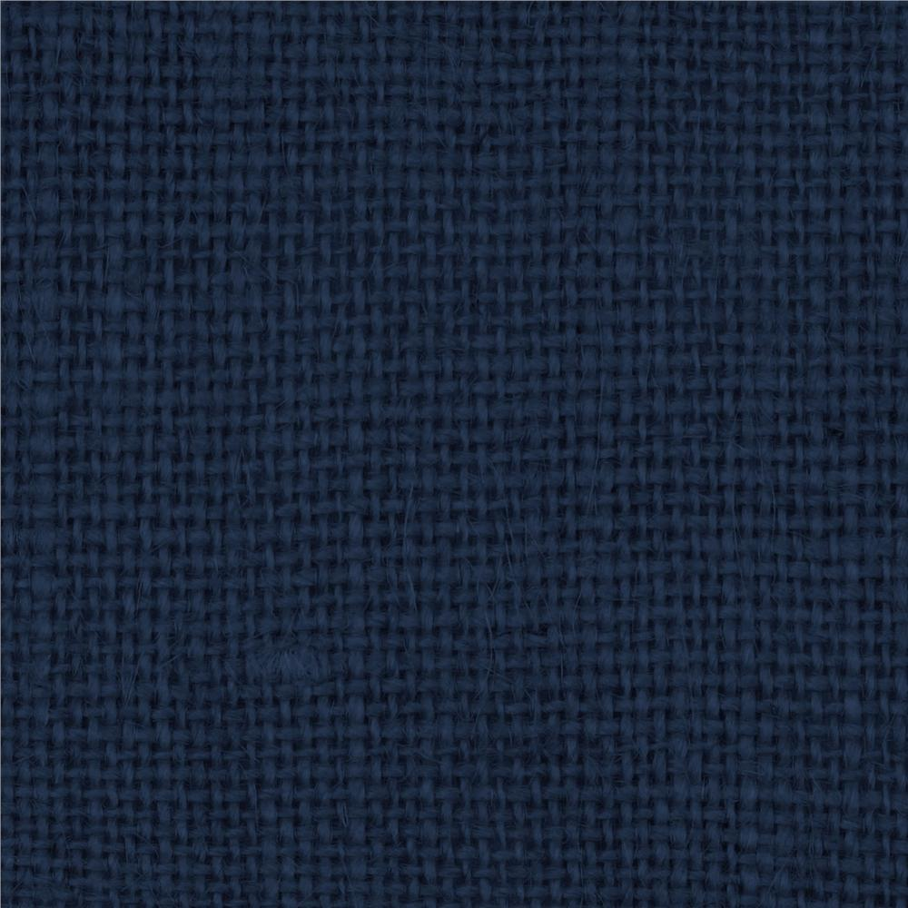 Royal Blue Fabric Burlap royal blue