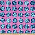 Joel Dewberry Cali Mod Home Decor Sateen Twill Succulents Lavender