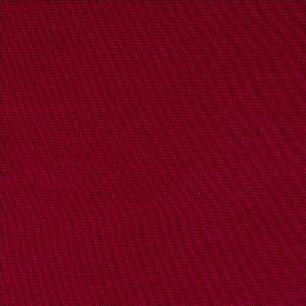 Brushed polyester spandex athletic jersey knit magenta for Spandex fabric