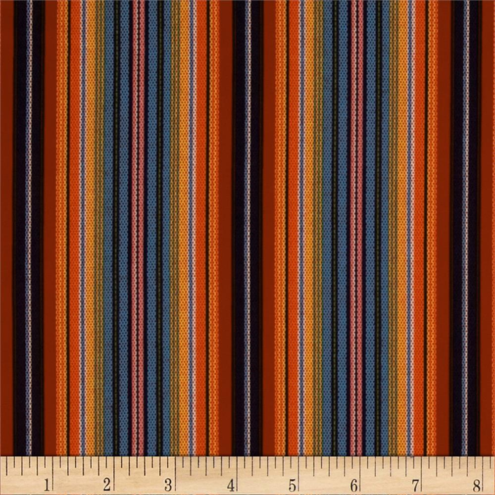 El Camino Serape Stripe Red