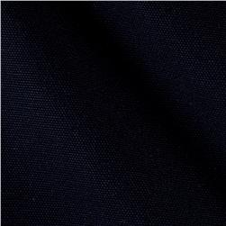 Kaufman Big Sur Canvas Solid Dark Navy
