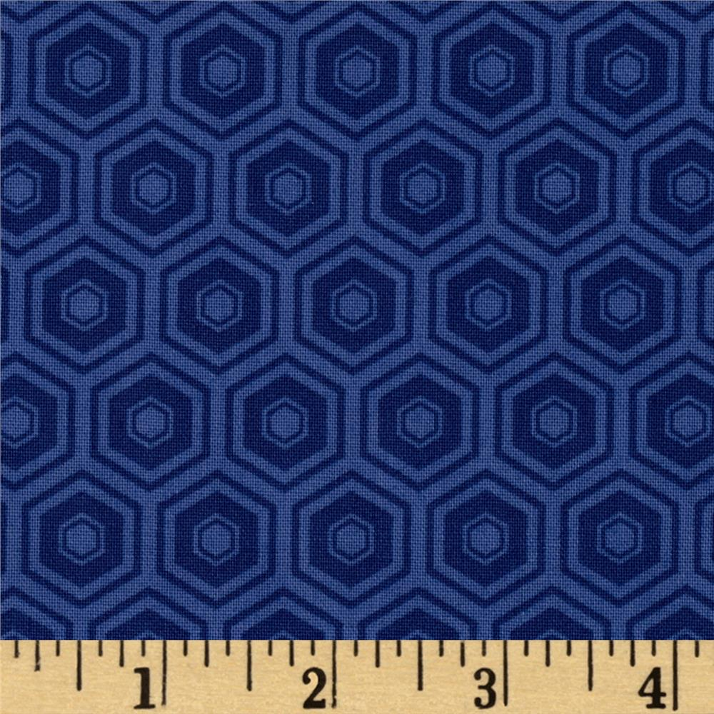 Mixology Honeycomb Navy