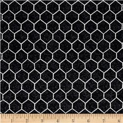 The Hen House Chicken Wire Black
