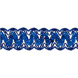 1 1/4'' Nikki Sequin Metallic Braid Trim Roll