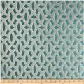 HGTV HOME Backlit Satin Jacquard Teal