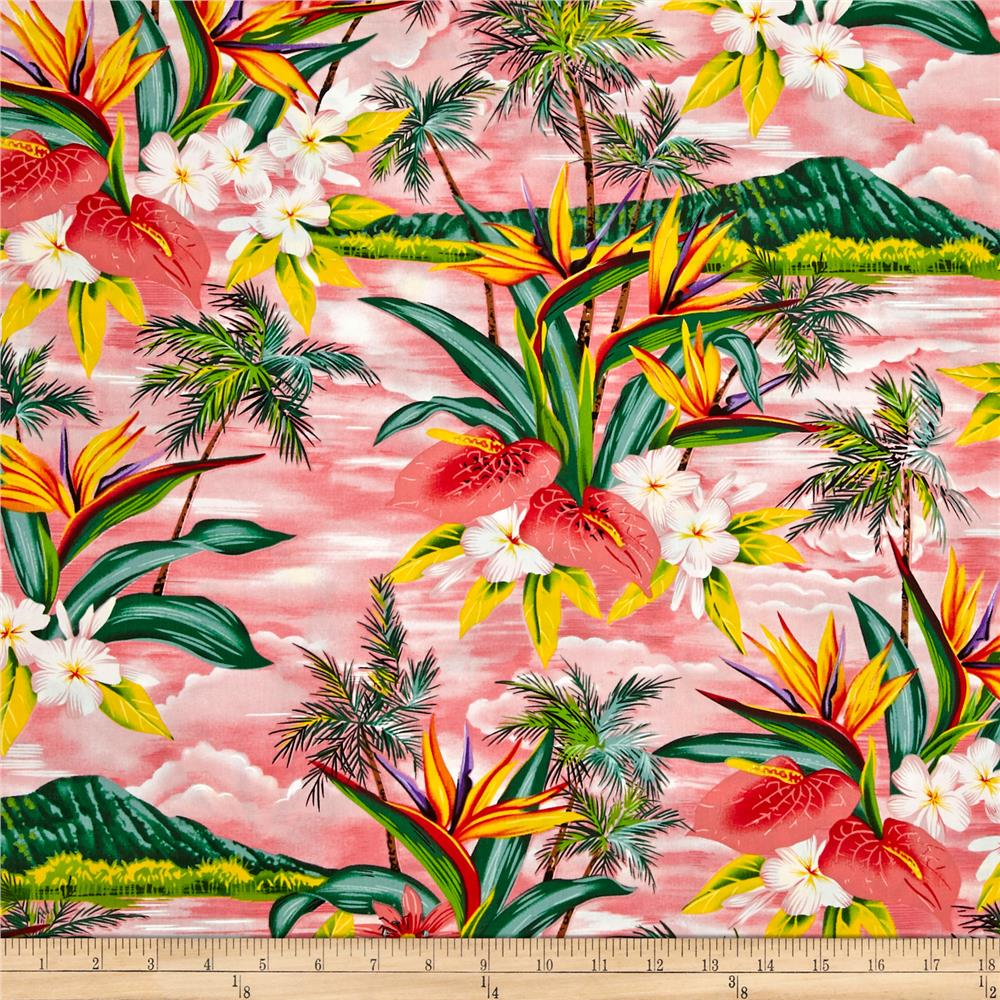 Hoffman Tropical Collection Volcano Pink