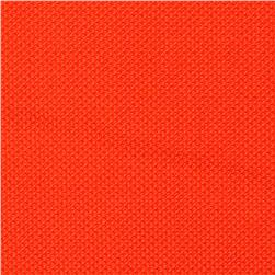 Moisture Wicking Diamond Knit Orange