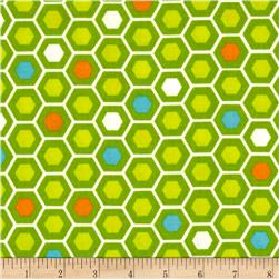 Moda Mixed Bag Flannel Hexy Grass