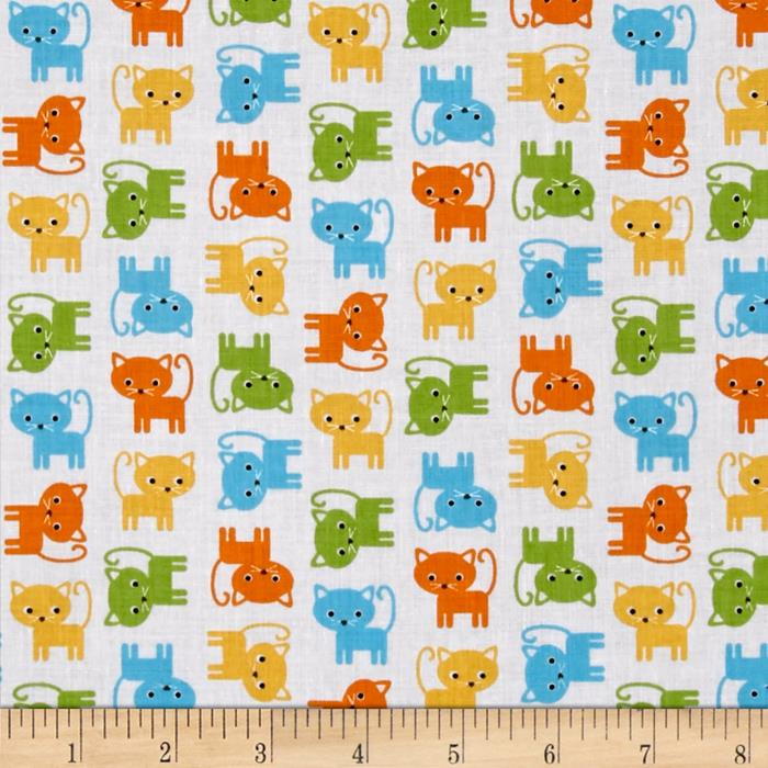 Kaufman Urban Zoologie Minis Little Cats Bermuda