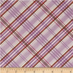 Edith Plaid Purple