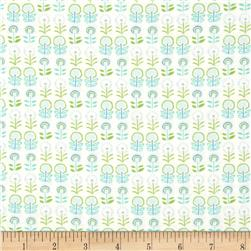 Bobo Baby Dandy Flower Blue Pastel