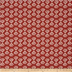 Tempo Indoor/Outdoor Tribal Footprint Red