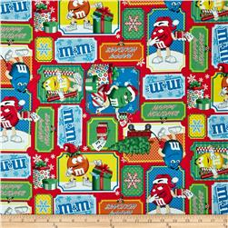 M&M's Christmas Patchwork Multi