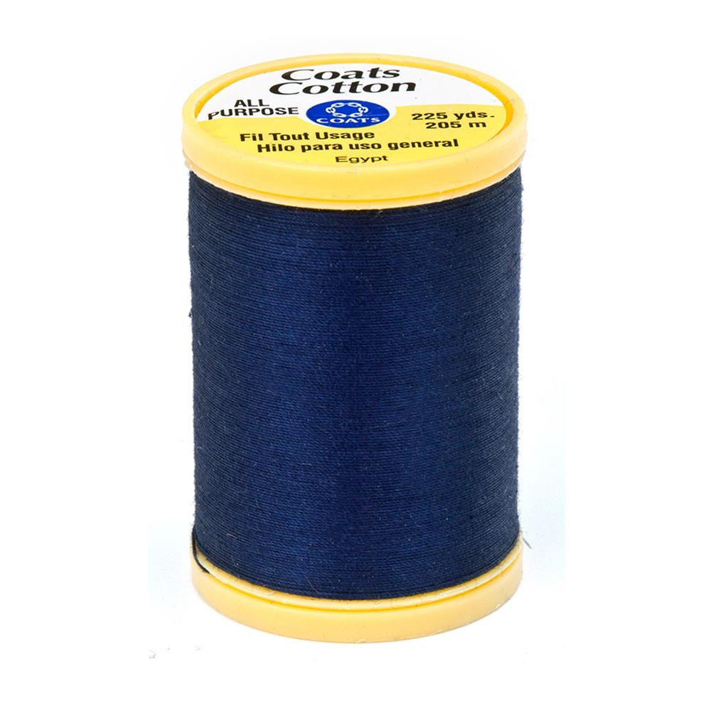 Coats & Clark General Purpose Cotton 225 YD Navy
