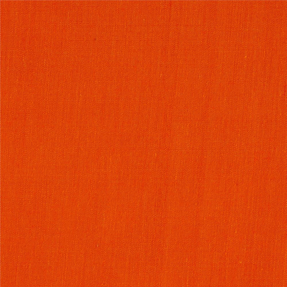 "60"" Poly Cotton Broadcloth Orange"