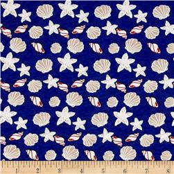 Nautical Collection Jersey Knit Shells Blue