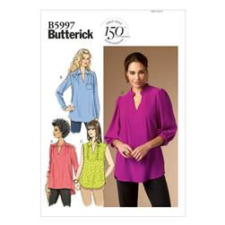 Butterick Misses/Women's Top Pattern B5997 Size B50