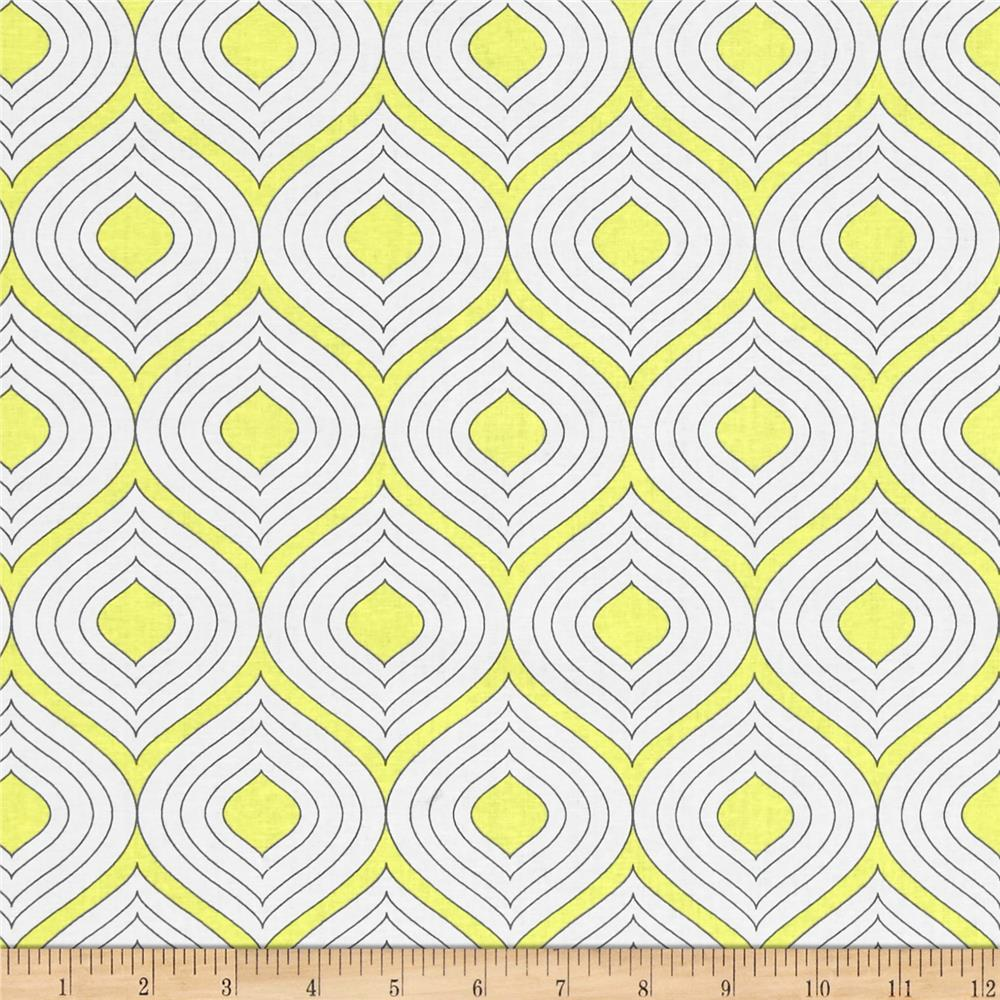 The Coloring Collection Ogee Yellow