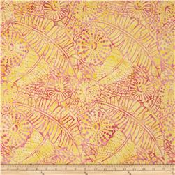 Timeless Treasures Tonga Batik Pashmina Tropical Lemon