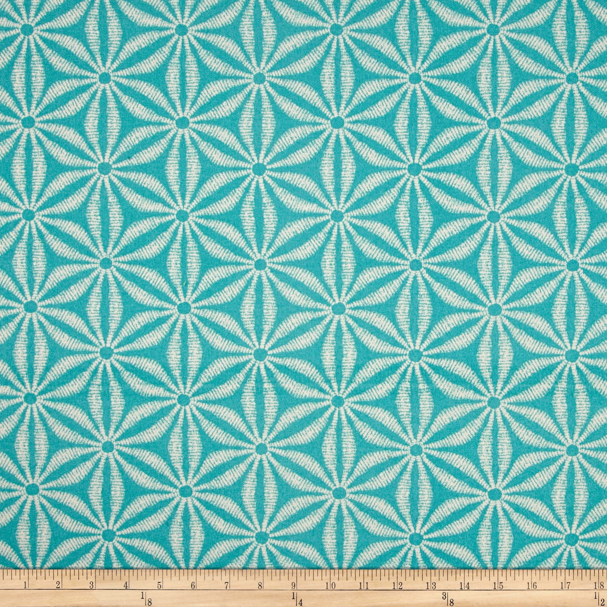 Tommy Bahama Indoor/Outdoor Star Batik Caribe Fabric by Waverly in USA