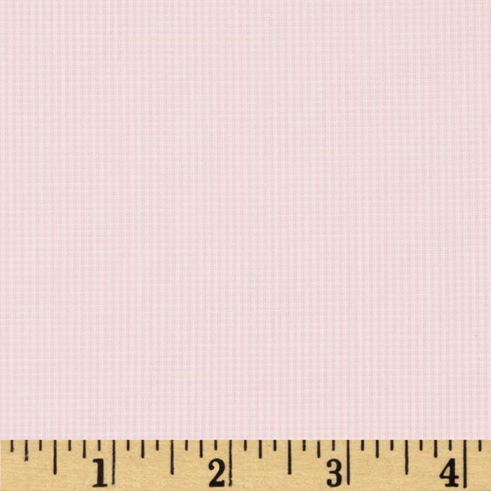 "Imperial 1/32"" Micro Check Light Pink"